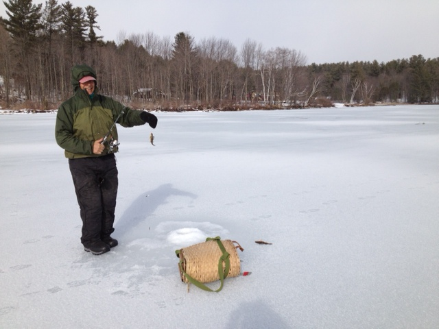 Ice Fishing In Vermont In 30 Mph Winds Uppervalleygirl