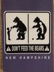bears - nh postcard