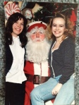 Santy Claus, Cyn and me poss. 1989