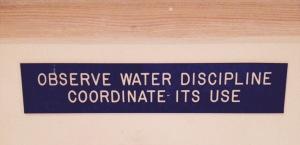 water discipline